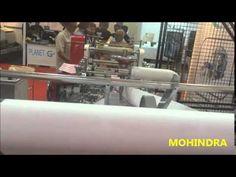 PAPER BAG MACHINE / bag making machine / carry bag / shopping bag making...