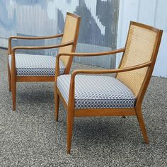 This Danish in Style Mid Century Modern Chairs by Richardson Nemschoff are in good condition for vintage age and use!! Made out of solid oak and caning. & Extreamly Rare Mid Century Unimold recliner by Weiland furniture ... islam-shia.org