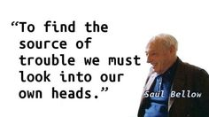 Saul Bellow - Head
