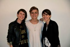 Scott Helman w/ Tegan & Sara at TD Music Cafe. An afternoon feature. Tegan And Sara, Singer, Musicians, People, Artists, Stars, Nice, Women, Inspiration