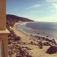 View from the Malibu Beach Inn.  #Malibu #MalibuBeachInn #beach #ocean