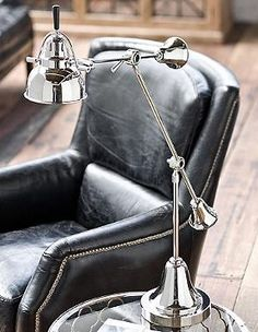 Boasting a handsome combination of elegant and casual style, the Vintage Table Adjustable Task Lamp is as stylish as it is functional.