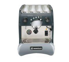 Epoca Espresso Machine, fully automatic, 1 group, 3.9 liter boiler, eletronic automatic water level, built in volumetric pump, 110 volt, 1600 watt, 15 amp.  http://www.katom.com/019-EPOCAE1.html