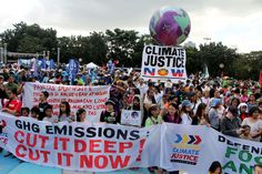 Thousands of students, farmers, activist and faith-based groups inside Quezon City Circle, Philippines on Nov. Environmental Ethics, Environmentalism, Quezon City, Powerful Images, Paris Photos, Farmers, Rally, Philippines, Students