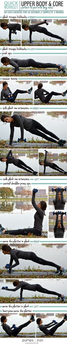 Quickest Upper Body and Core Workout