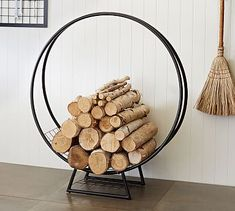 Kellan Log Hoop #potterybarn