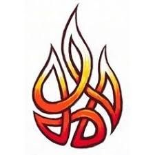 Image Result For Kelt Fire Symbol Flame Tattoos Fire Tattoo Tribal Drawings