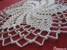ao with <3 / Crochet bead motif - free pattern