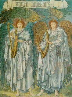 Edward Coley Burne-Jones - Angeli Laudantes
