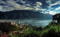 Caracas desde el Cafetal - El ávila