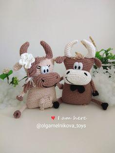 1000 схем амигуруми | ВКонтакте Crochet Doll Pattern, Crochet Toys Patterns, Amigurumi Patterns, Stuffed Toys Patterns, Doll Patterns, Baby Cows, Homemade Toys, Doll Tutorial, Amigurumi Toys