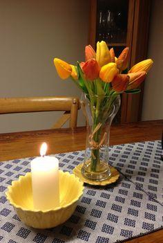 Margaridas e tulipas