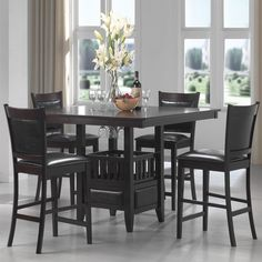 Shop Coaster Fine Furniture  Jaden 5-Piece Counter Height Dining Set at The Mine. Browse our dining sets, all with free shipping and best price guaranteed.