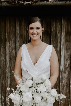 Rachel loves Chris | White Wedding in the Hinterland - The Bride's Tree Wedding Dreams, Wedding Day, Marriage Celebrant, We Get Married, Bridesmaid Dress Colors, Birthday Weekend, Friend Wedding, Engagement Couple, Marry Me