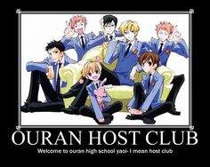Ouran Host Club by hedgehogtheawesome.deviantart.com on @deviantART