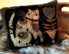cat pillow by Misi