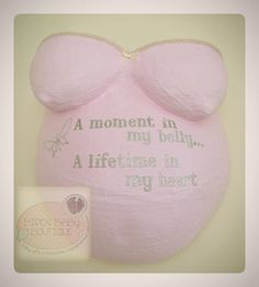 Sentimental pregnant belly cast