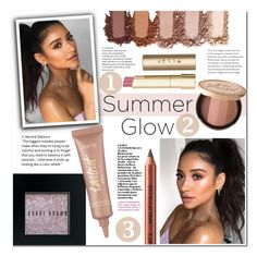 """""""Golden Goddess: Summer Glow"""" by mery90 ❤ liked on Polyvore featuring beauty, Stila, Too Faced Cosmetics, Bobbi Brown Cosmetics, tarte and summerglow"""