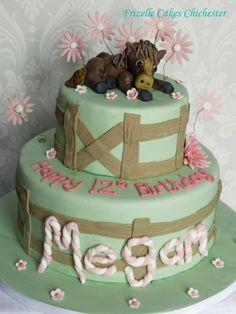 Horse birthday cake, made at short notice