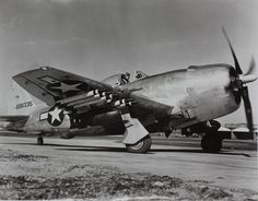 Republic P-47N Thunderbolt P-47N-5-RE, 44-88335. The Republic P-47 Thunderbolt, also known as the 'Jug,' was the biggest, heaviest, and most expensive fighter aircraft in history to be powered by a single piston engine. It was one of the main United State | Flickr - Photo Sharing!