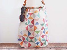 Everyday tote bag - Multi print