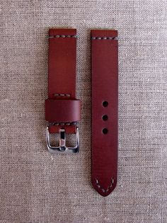 Кожаный ремешок для часов Watch Straps, Leather Working, Leather Craft, Hand Stitching, Watch Bands, Gifts For Him, Mens Fashion, Watches, Luxury