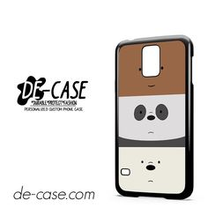 We Bare Bears DEAL-11852 Samsung Phonecase Cover For Samsung Galaxy S5 / S5 Mini