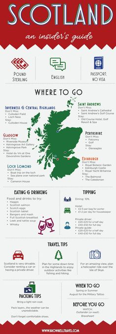 Insider's Guide to Scotland - Travel ideas - Consejos para Viajes Scotland Road Trip, Scotland Vacation, Scotland Travel Guide, Travel List, Travel Guides, Oh The Places You'll Go, Places To Travel, Glasgow, Edinburgh