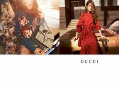 An image from Gucci's fall-winter 2015 campaign
