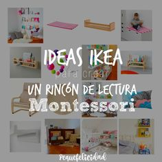Que los niños puedan tener sus cuentos accesibles es uno de los estímulos que podemos darles para fomentar en ellos el amor por ... Ikea Montessori, Montessori Toddler Bedroom, Montessori Classroom, Classroom Decor, Reading Corner Kids, Kids Corner, Ikea Kids, Reggio Emilia, Home Daycare