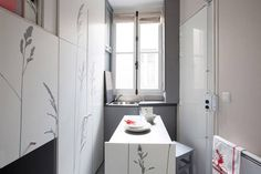 86 Square Foot Paris Apartment - Tiny Apartment Design - House Beautiful