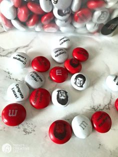 Personalized M&Ms for Party ideas | TodaysCreativeLife.com