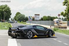 Lamborghini Centenario spotted in the wild by Fabian Räker Photography