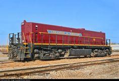 AM #80 Arkansas & Missouri Railroad TEBU at Fort Smith, Arkansas