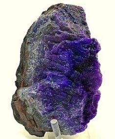 Sugilite gel with Richterite and Bustamite