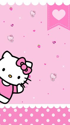 Pink Hello Kitty Wallpapers Top Free Pink Hello Kitty intended for Hello Kitty Wallpaper Hd Android - All Cartoon Wallpapers Walpaper Hello Kitty, Hello Kitty Wallpaper Hd, Hello Kitty Backgrounds, Cute Backgrounds, Phone Backgrounds, Sanrio Hello Kitty, Cartoon Wallpaper, Sanrio Wallpaper, Love Rain