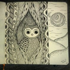 My Zendoodle 365-project, day 75 by ~Nadik on deviantART