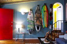 Surf board decor