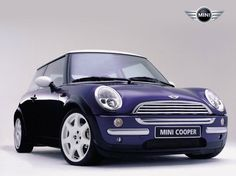 OMG - A PURPLE Mini Cooper!!!  Only thing that would make it more perfect is if it was a convertible...