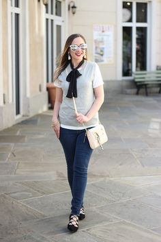 A Casual, Stylish Take on a Classic Sweater Shell