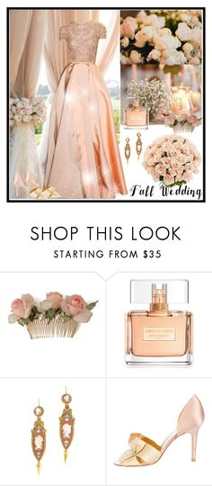 """""""Fall Wedding"""" by dezaval ❤ liked on Polyvore featuring Elie Saab, Givenchy, Sergio Rossi, chic, wedding and Elegant"""