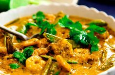 Thai Red Curry with Prawns