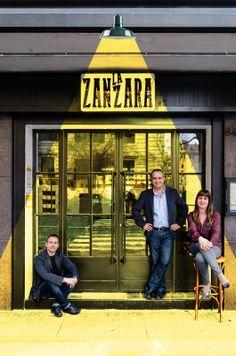 """La Zanzara"" Restaurant, Bistrot in Zona Prati, Roma design and made by RPM Proget www. Restaurant Facade, Restaurant Interior Design, Restaurant Bar, Facade Design, Wall Design, Storefront Signs, Instalation Art, Shop Facade, Store Design"