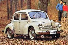 4CV Hino Renault (Japan)1946–1961. My dad owned one of these in 1956.
