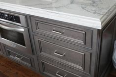 Think we have decided on White Macaubus Quartzite for kitchen. White Macaubas Quartzite, White Quartzite Countertops, Kitchen Cabinets And Countertops, Granite Kitchen, Grey Cabinets, Kitchen Cousins, Kitchen Family Rooms, Kitchen Tops, Kitchen Decor
