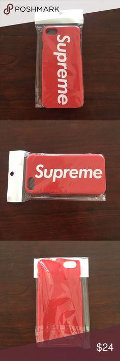 Supreme iPhone 7 case Brand new Supreme iPhone 7 case Supreme Accessories Phone Cases