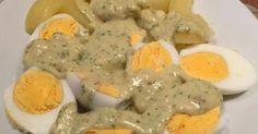 Senf-Kräuter-Eier mit Kartoffeln (aus den Finessen 6/2015)