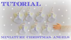 Tutorial : how to make a miniature Christmas angel for dolls