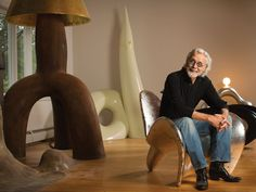 A Portrait of the Artist as a Very Young Octogenarian. Wendell Castle. American Craft Magazine. Photo by Matt Wittmeyer