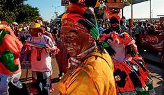 "COLOMBIA | FOTOS DEL CARNAVAL DE BARRANQUILLA. V, 15 FEB 2013 - ""El carnaval de Barranquilla, el más colorido del mundo"". (IPITIMES.COM® /FUENTE: PERFIL)."